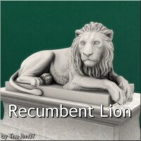 Recumbent Lion by TheJim07