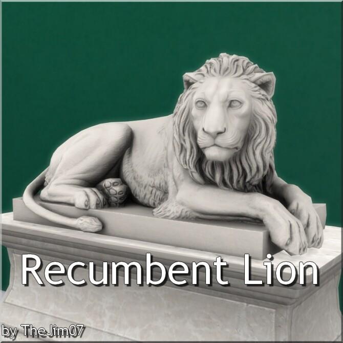 Recumbent Lion by TheJim07