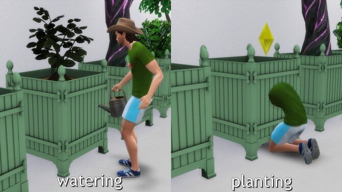 Sims 4 Chateau de Versailles Tree Box by TheJim07 at Mod The Sims