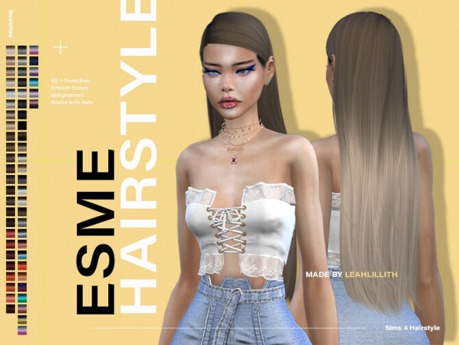 Esme Hairstyle by Leah Lillith at TSR image 7214 670x503 Sims 4 Updates