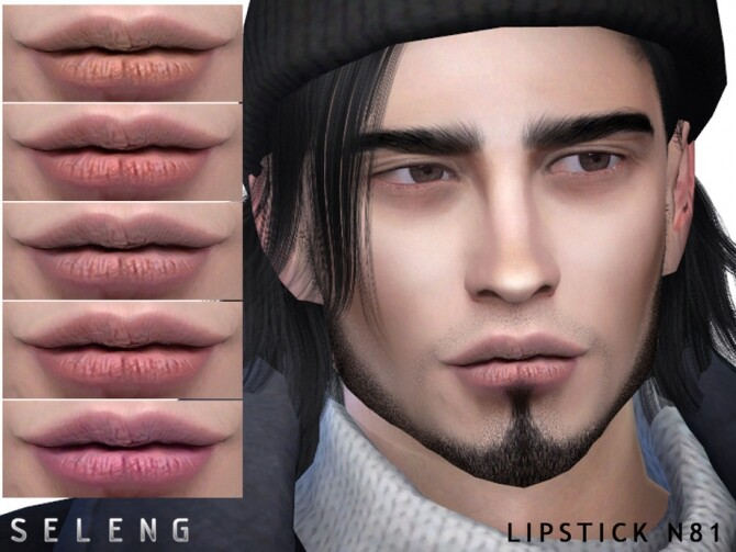 Lipstick N81 by Seleng at TSR image 7218 670x503 Sims 4 Updates