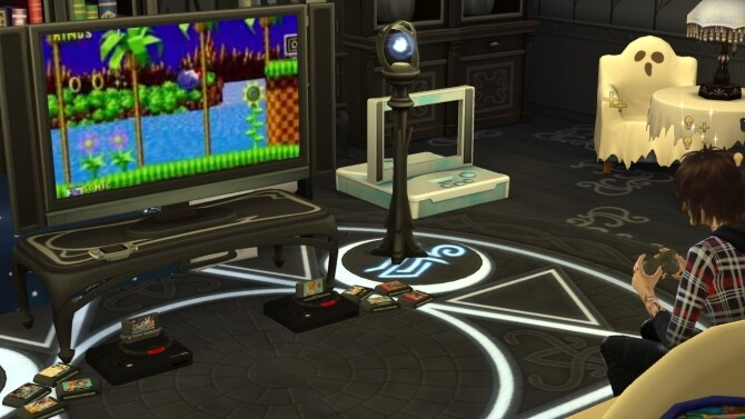 Working SEGA Genesis/Mega Drive console by LightningBolt at Mod The Sims image 7219 670x377 Sims 4 Updates