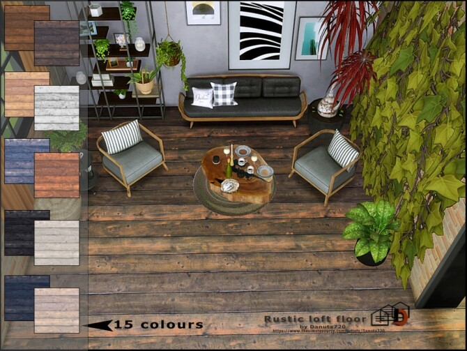 Rustic loft floor by Danuta720 at TSR image 7220 670x503 Sims 4 Updates