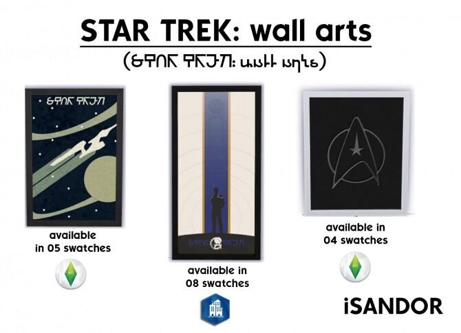 Star Trek wall arts by iSandor