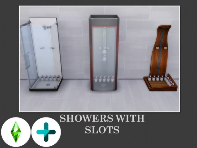 Showers with Slots by Teknikah