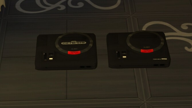 Working SEGA Genesis/Mega Drive console by LightningBolt at Mod The Sims image 7316 670x377 Sims 4 Updates
