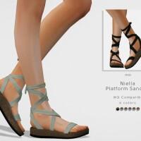 Niella Platform Sandals by DarkNighTt