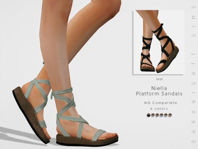 Niella Platform Sandals by DarkNighTt