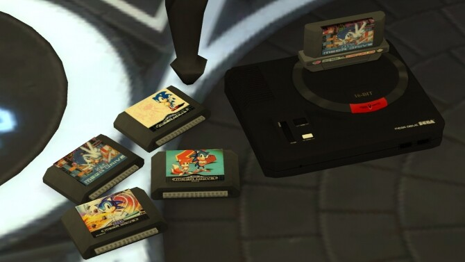 Working SEGA Genesis/Mega Drive console by LightningBolt at Mod The Sims image 7417 670x377 Sims 4 Updates