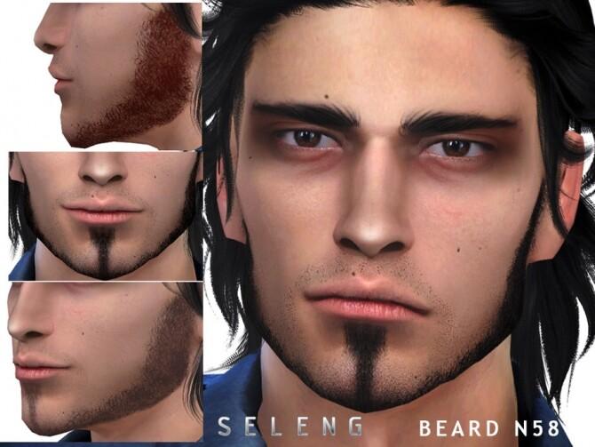 Sims 4 Beard N58 by Seleng at TSR