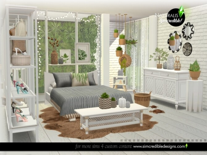 Naturalis Bedroom by SIMcredible