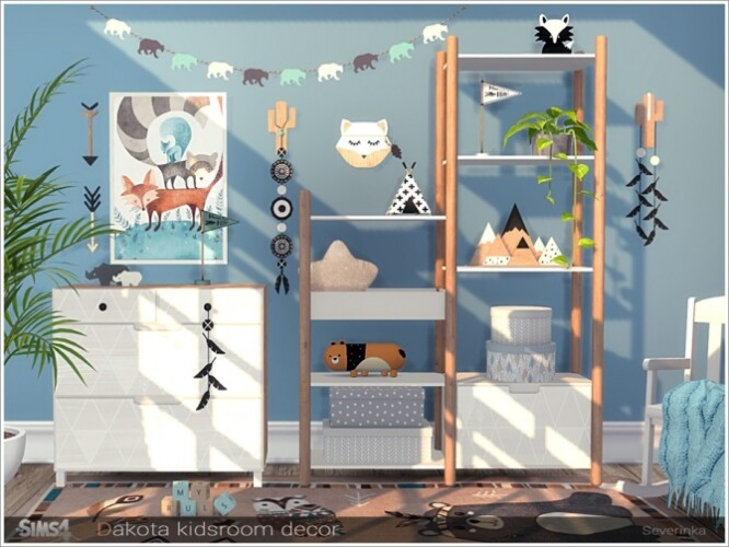 Dakota kidsroom decor by Severinka