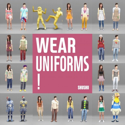 Wear Uniforms by lemonshushu