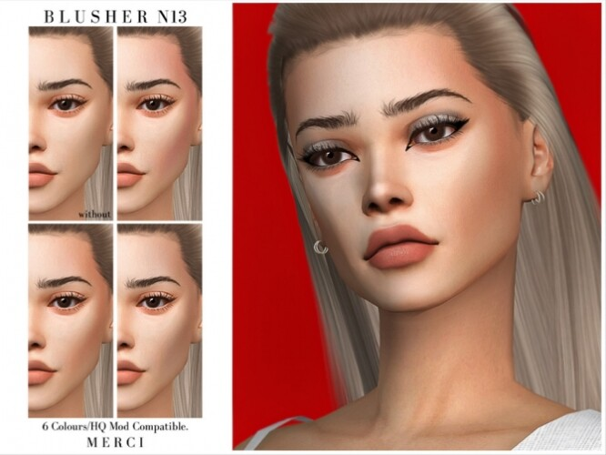 Blusher N13 by Merci