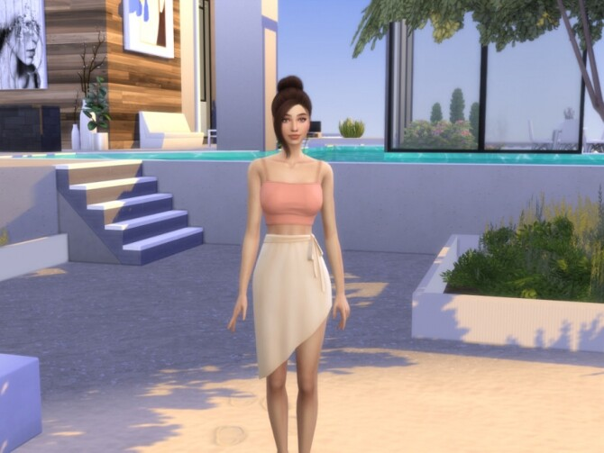 Sims 4 Dahlia Conway by Mini Simmer at TSR