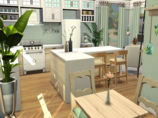 Sims 4 Cerulean Cabin by LJaneP6 at TSR