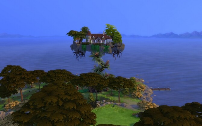 Sims 4 The Beanstalk Cottage by alexiasi at Mod The Sims