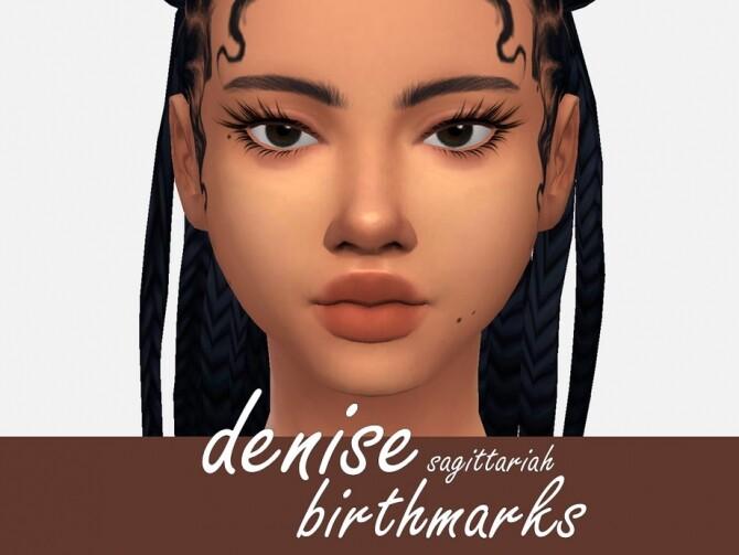 Denise Birthmarks by Sagittariah at TSR image 774 670x503 Sims 4 Updates