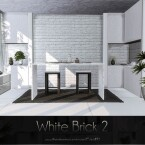 White Brick 2 Wall by Caroll91