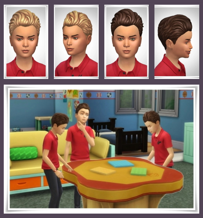 Sims 4 Kids Old Wave Hair Override at Birksches Sims Blog