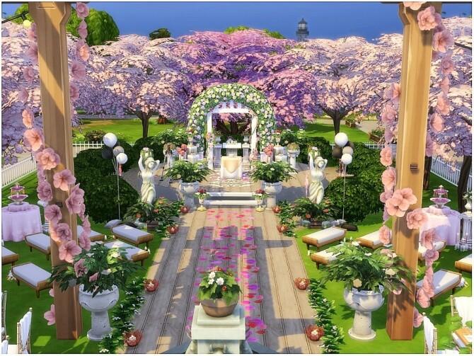 Cherry Wedding by lotsbymanal at TSR image 8103 670x503 Sims 4 Updates
