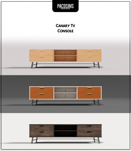 Canary Tv Console