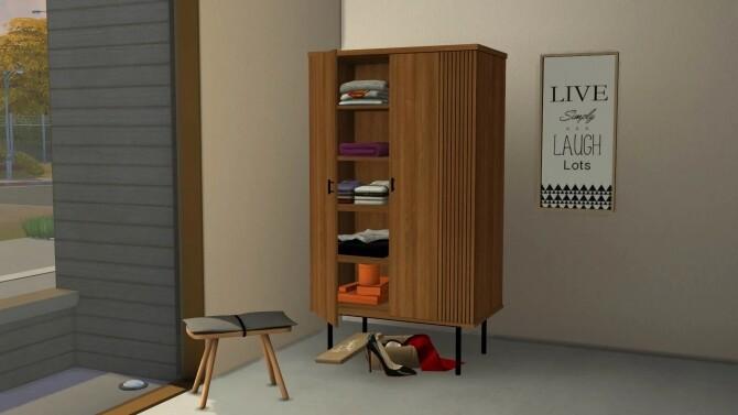 Sims 4 Double Door Wardrobe at Sunkissedlilacs