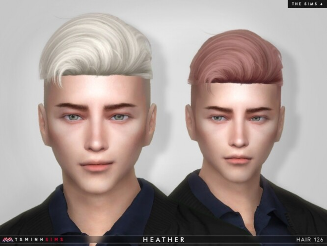 Heather Hair 126 by TsminhSims