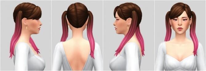 Heejin hair at Casteru image 826 670x230 Sims 4 Updates