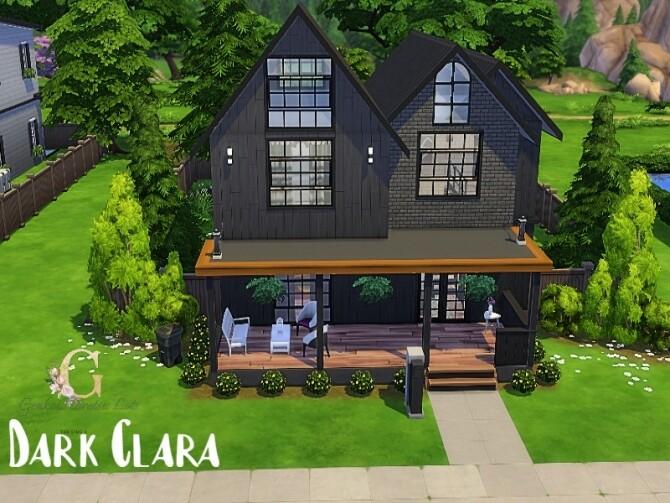 Sims 4 Dark Clara Home by GenkaiHaretsu at TSR