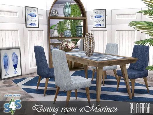 Marine dining room