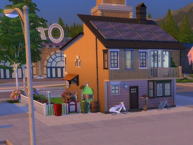 Sims 4 Svartlamoen Risnes home at KyriaT's Sims 4 World