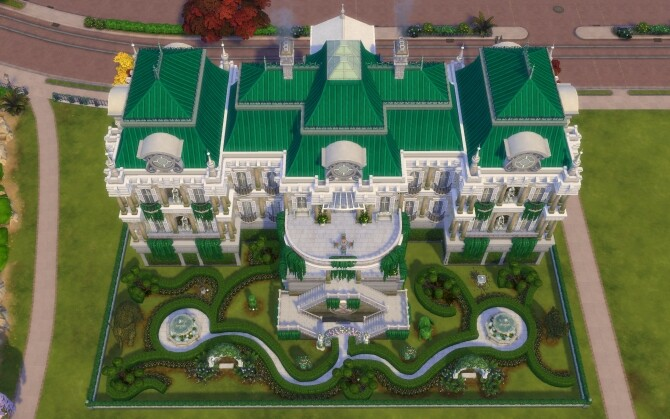 Sims 4 The French Chateau by alexiasi at Mod The Sims