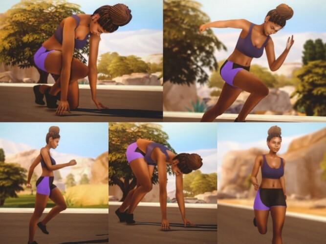 Running Pose Pack
