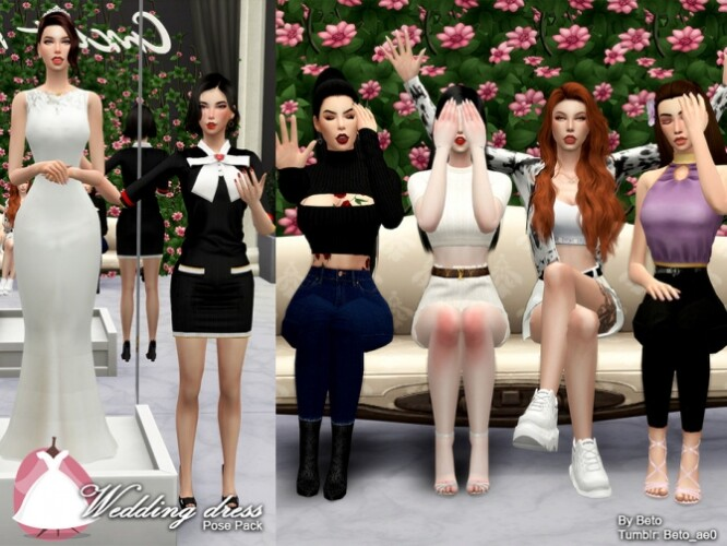 Wedding dress Pose Pack by Beto_ae0