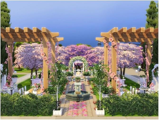 Cherry Wedding by lotsbymanal at TSR image 9103 670x503 Sims 4 Updates