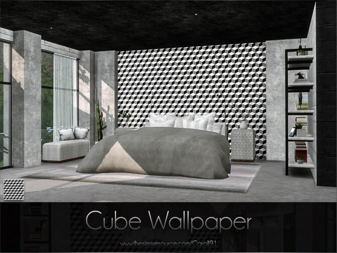 Sims 4 Cube Wallpaper by Caroll91 at TSR