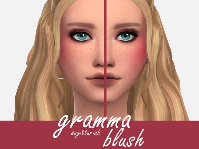 Sims 4 Gramma Blush by Sagittariah at TSR