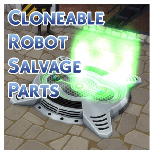 Cloneable Robot Salvage Parts by Menaceman44