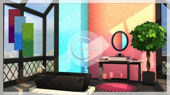 Sims 4 ZUV Tiles at Cross Design