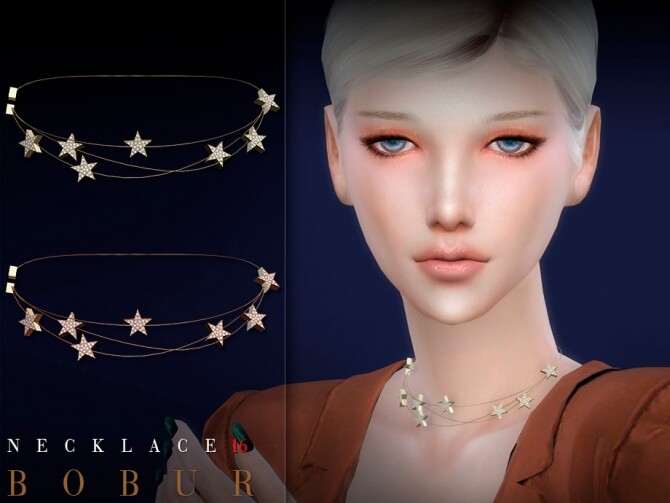 Necklace 16 by Bobur3 at TSR image 9520 670x503 Sims 4 Updates
