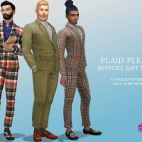Plaid Please Bespoke Suits by SimmieV
