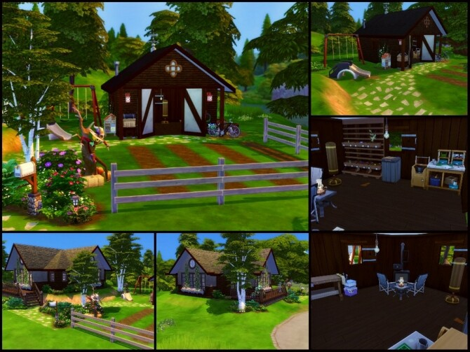 Sims 4 Cozy Cottage by sparky at TSR