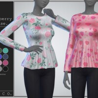 Strawberry blouse by pipco