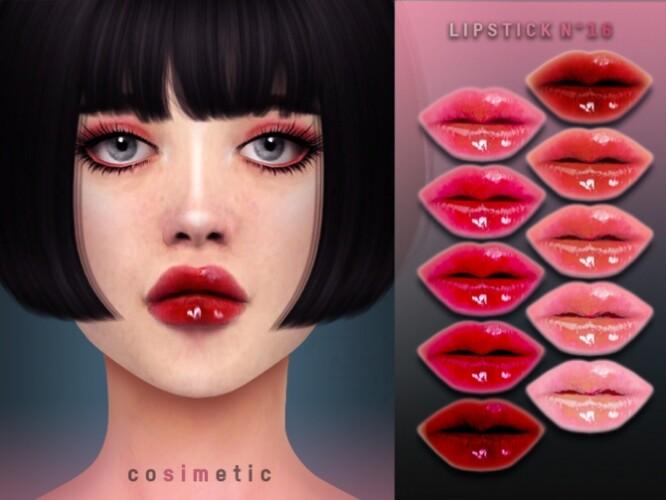 Lipstick N16 by cosimetic