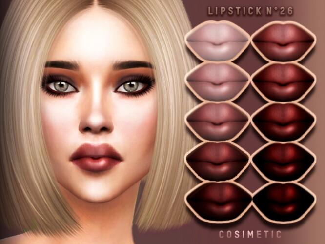 Lipstick N26 by cosimetic