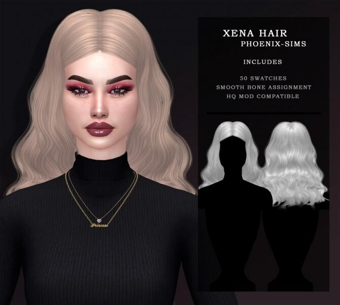 XENA ELISE RILEY HAIRS