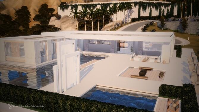 Sims 4 Waterloo Mansion at SoulSisterSims