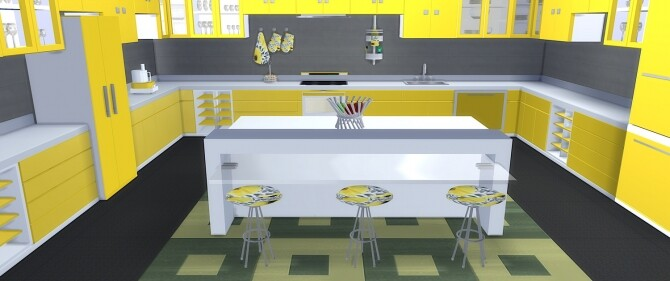 Senso Kitchen at LIZZY SIMS image 10315 670x281 Sims 4 Updates