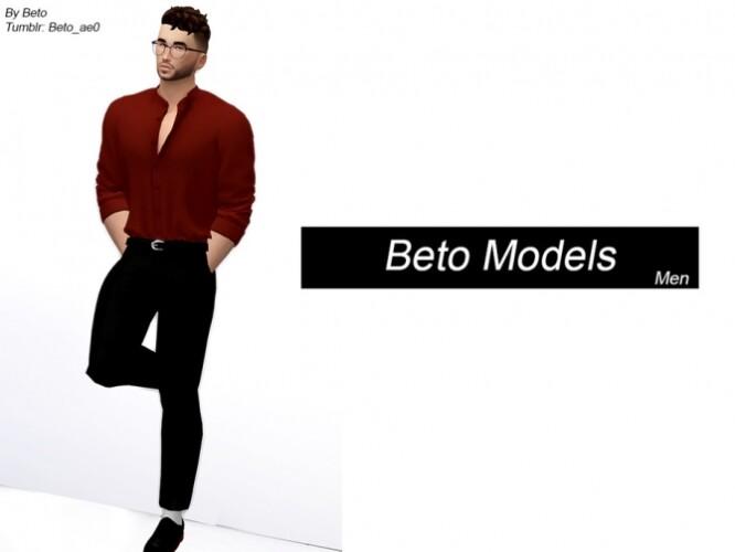 Models Men Pose Pack by Beto_ae0